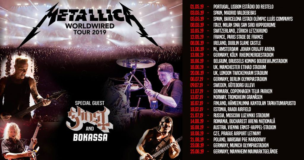Metallica World Wired Tour
