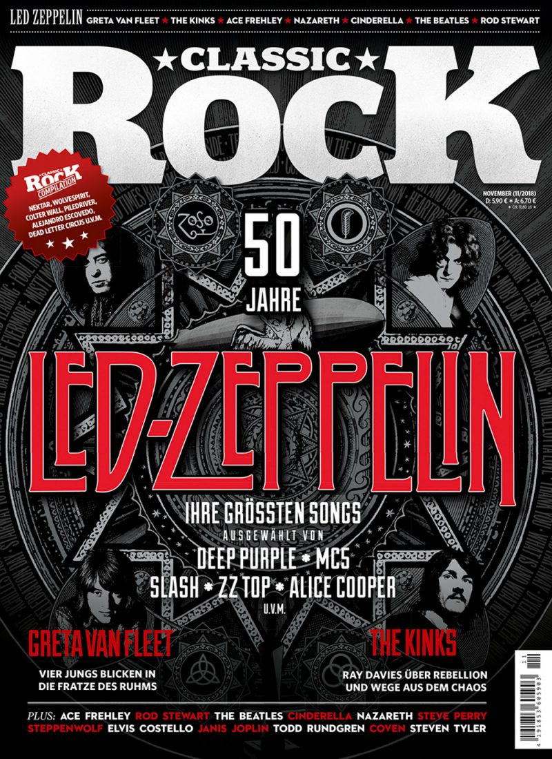 Classic Rock 75 mit Led Zeppelin