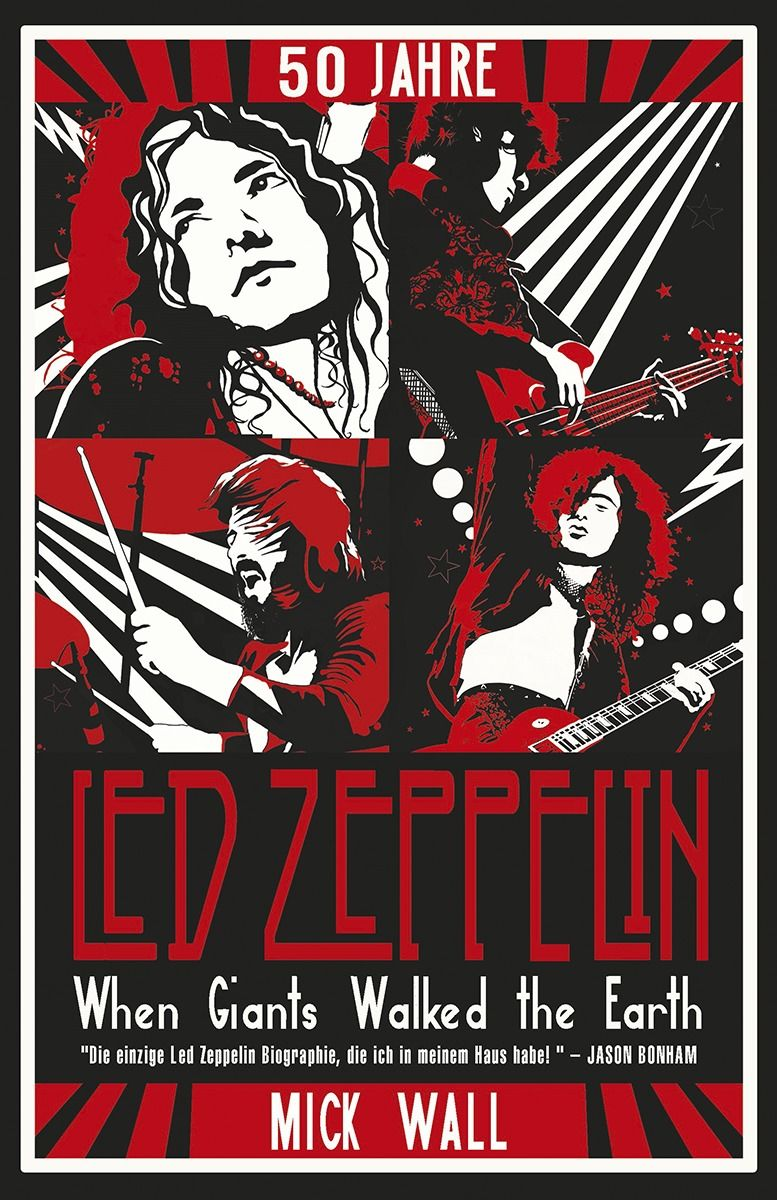Mick Wall Led Zeppelin Buch