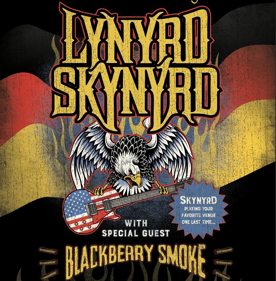 Lynyrd Skynyrd Tourplakat 2018
