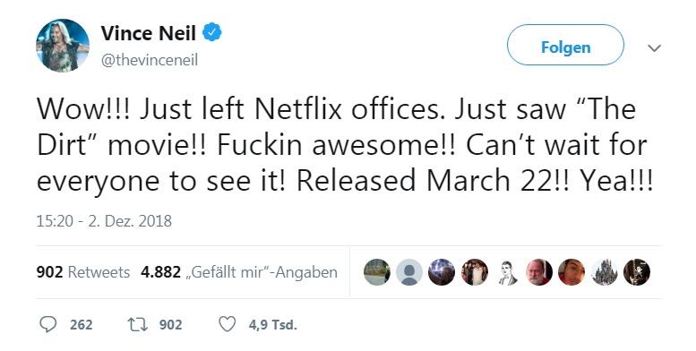 Vince Neil Twitter
