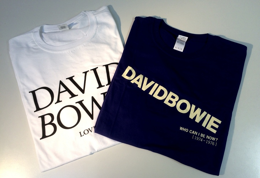 David Bowie Shirts Gewinnspiel