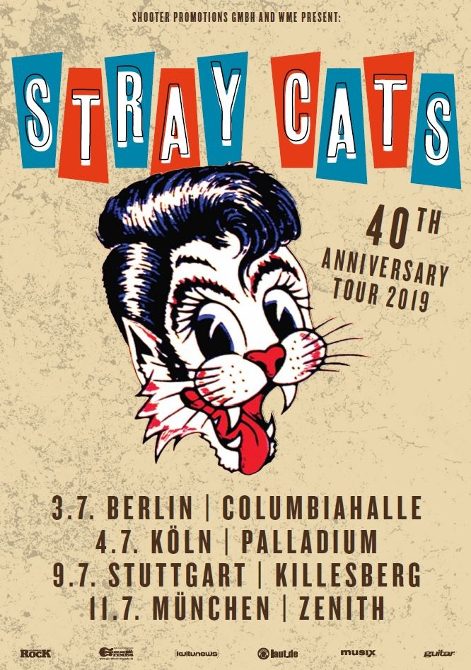 Straycats Tourposter