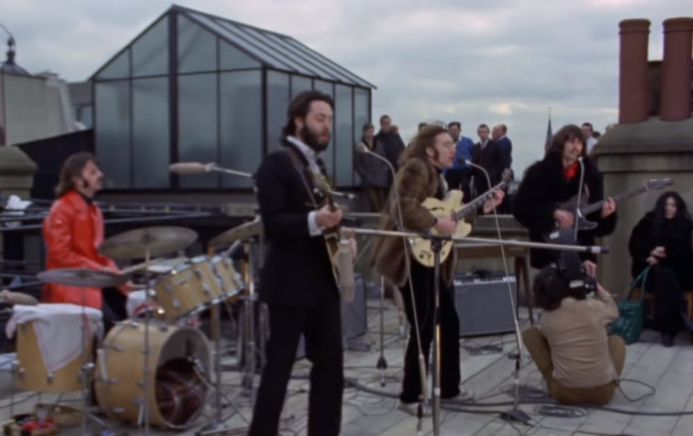 Beatles Rooftop Konzert