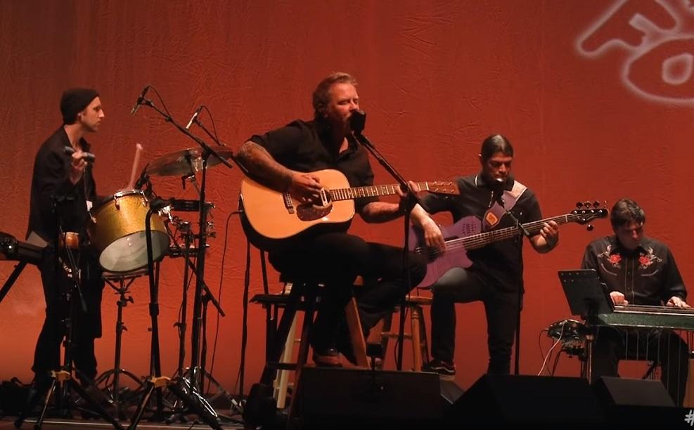 Metallica Four Horsemen live akustisch