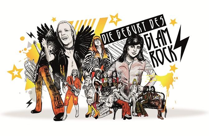 Die Geburt des Glamrock