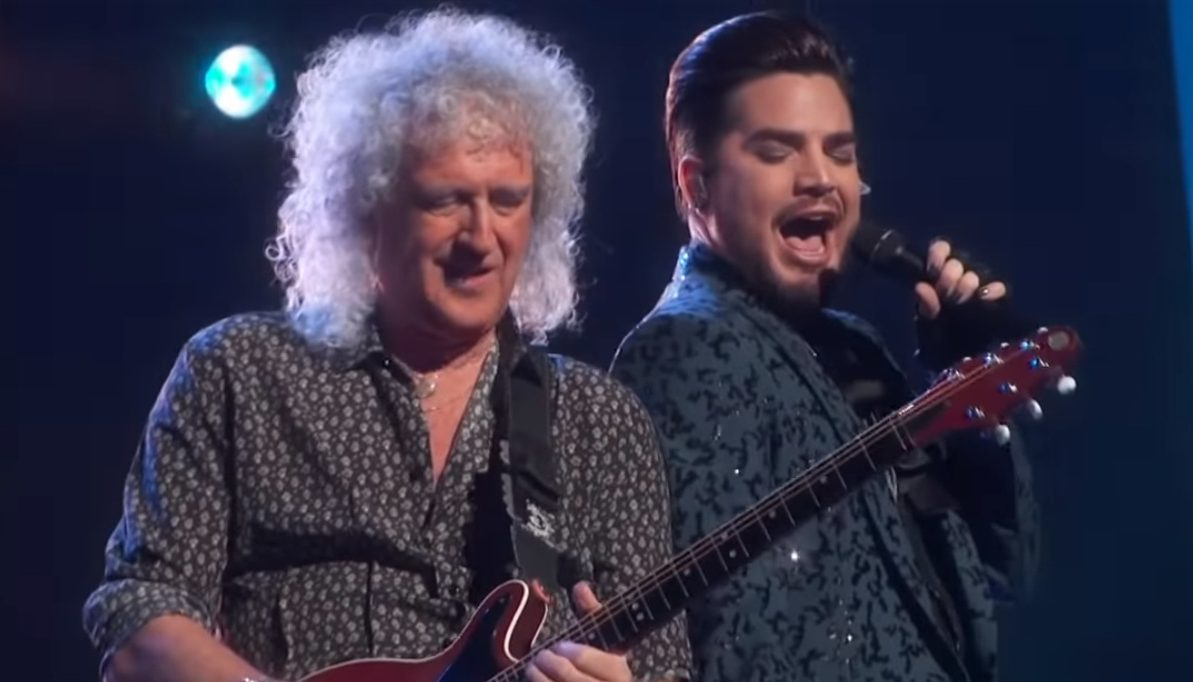 Queen live Oscars