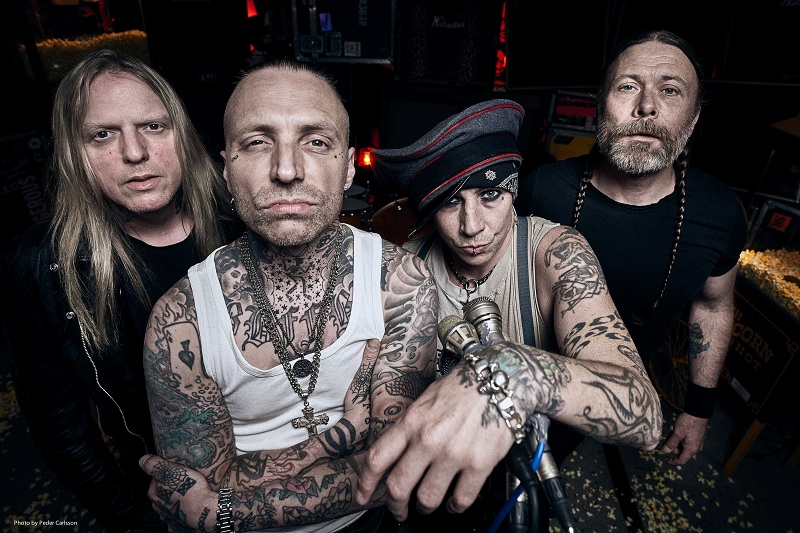Backyard Babies Press 2019