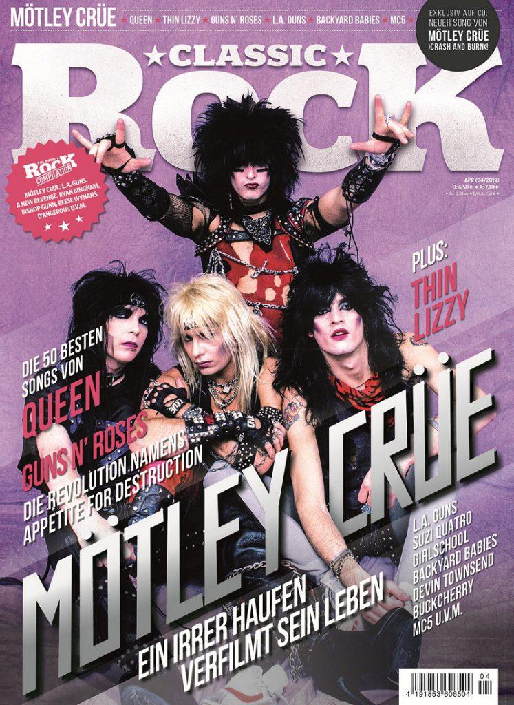 Classic Rock Cover Ausgabe 79 Mötley Crüe