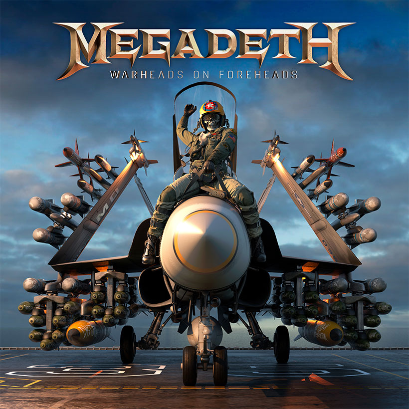 Megadeth Warheads On Foreheads