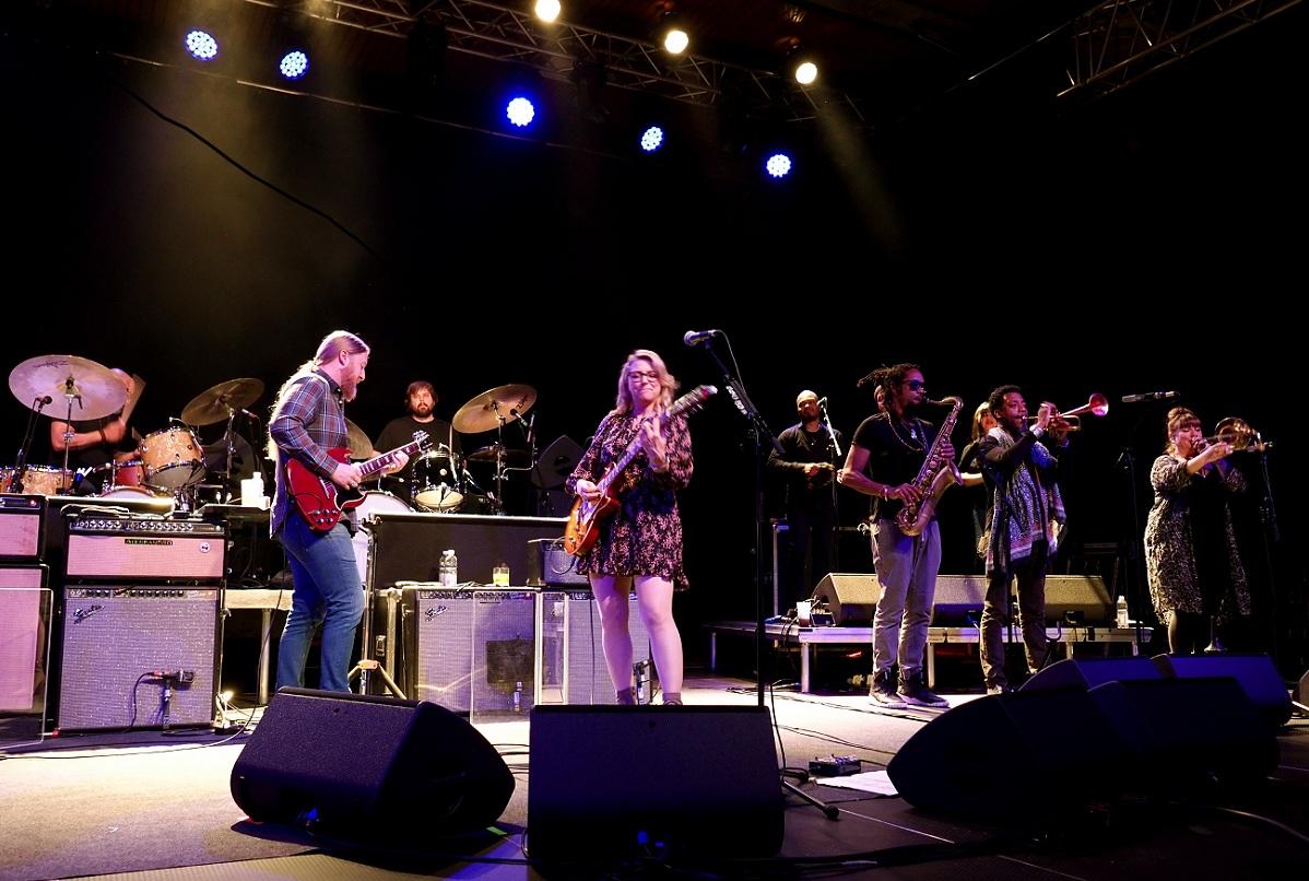 Tedeschi Trucks Band live in Winterbach