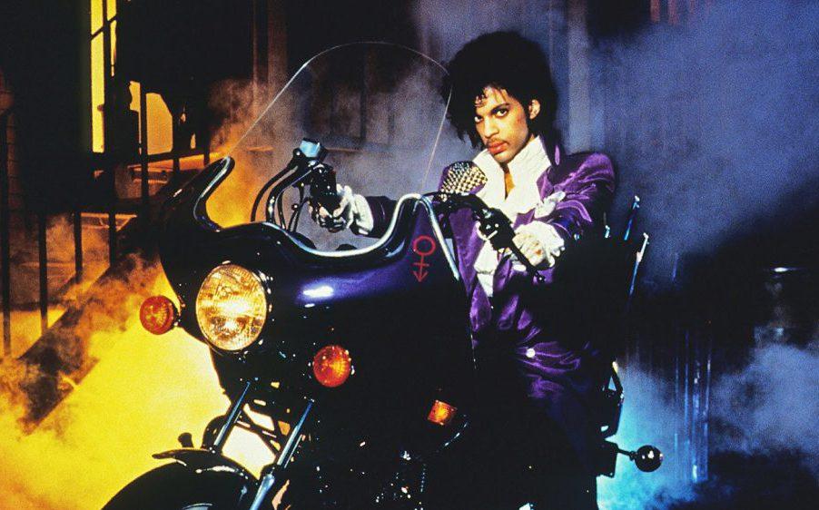 Prince mit Purple Rain