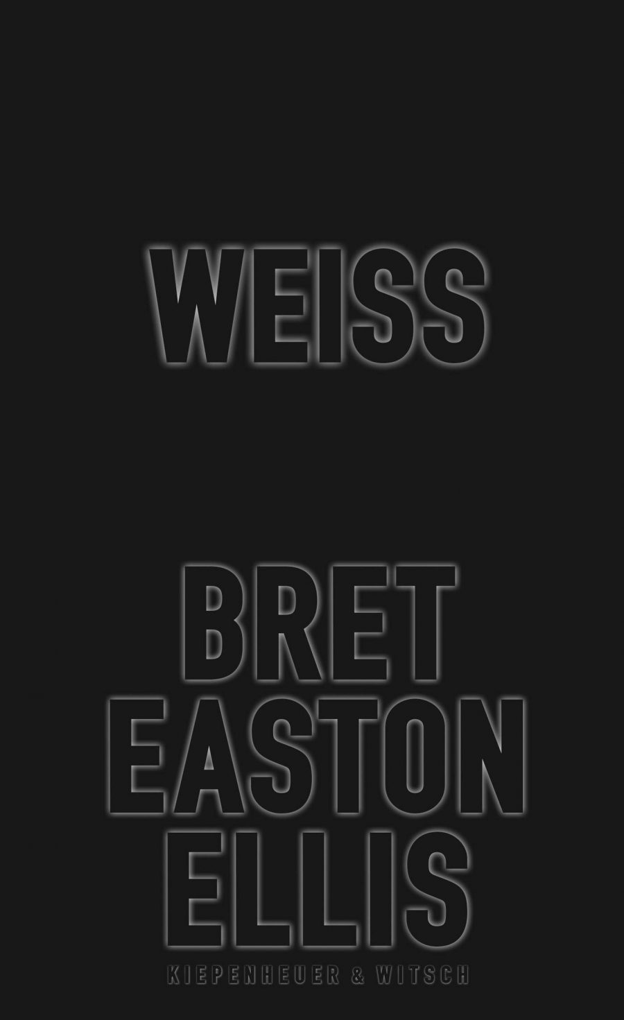 Bret Easton Ellis mit Weiß
