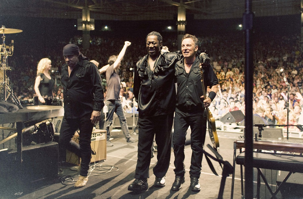 Bruce Springsteen mit Clarence Clemons