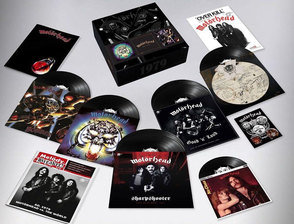 Motörhead 1979 Box