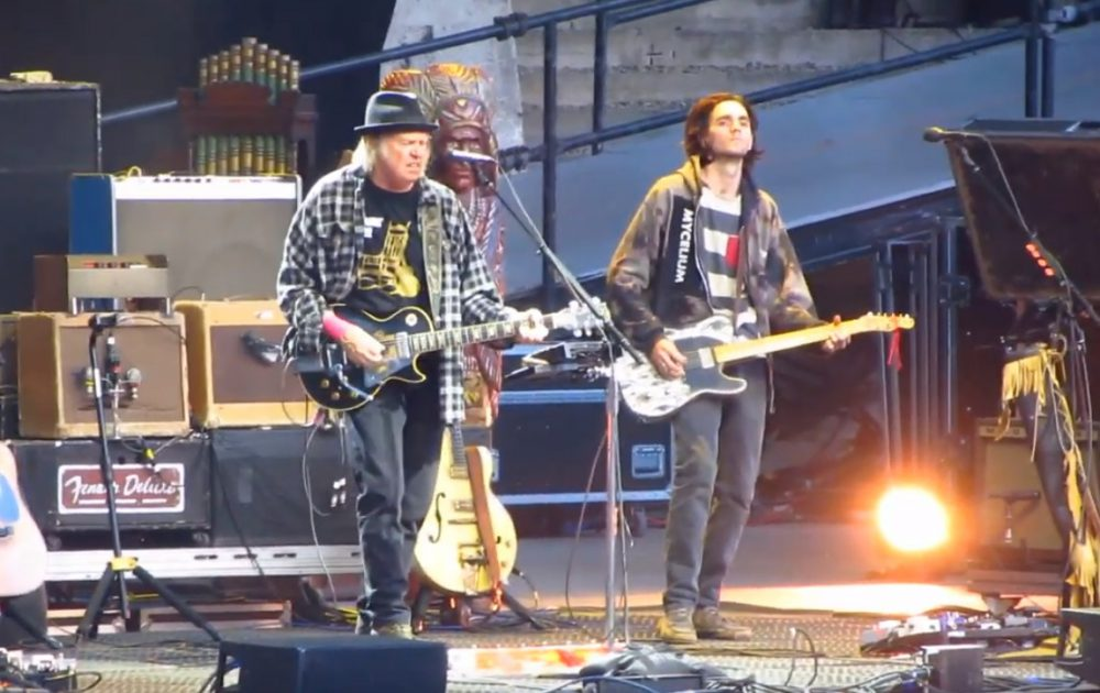 Neil Young live in Berlin
