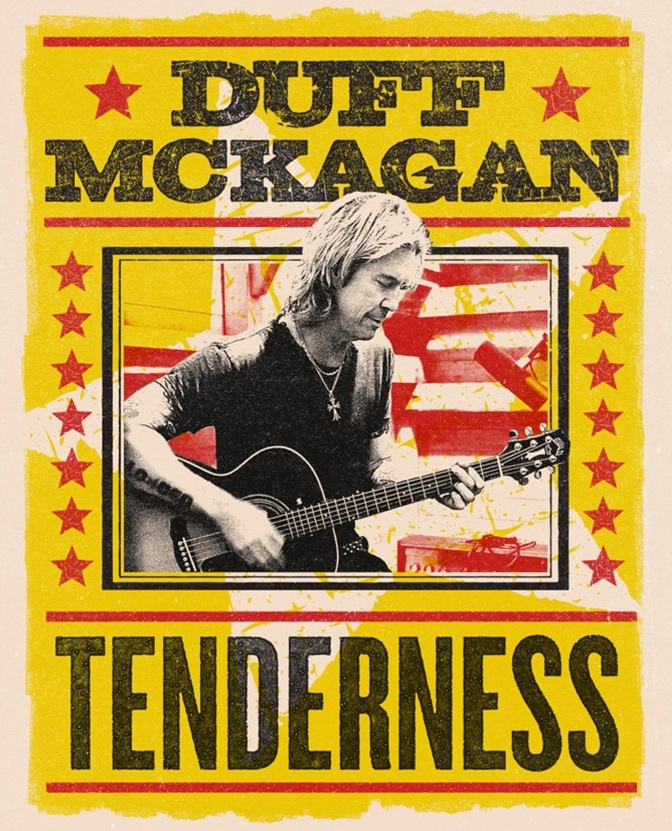 Duff McKagan Lithografie