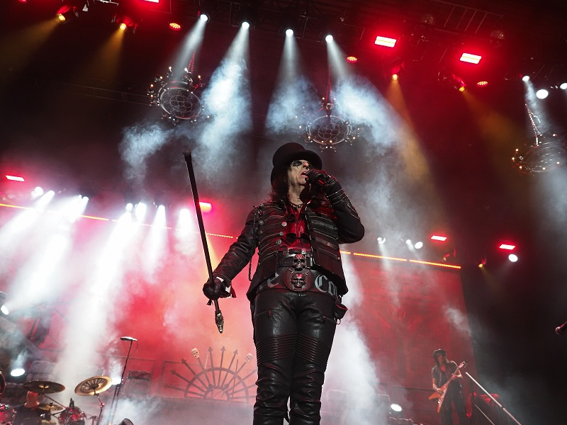 Alice Cooper live in Stuttgart