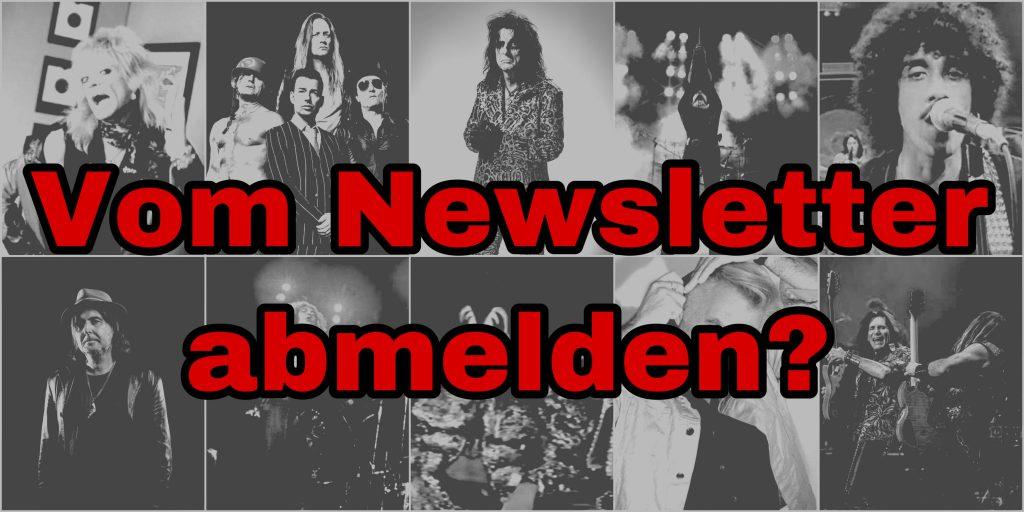 Classic Rock Newsletter Abmeldung