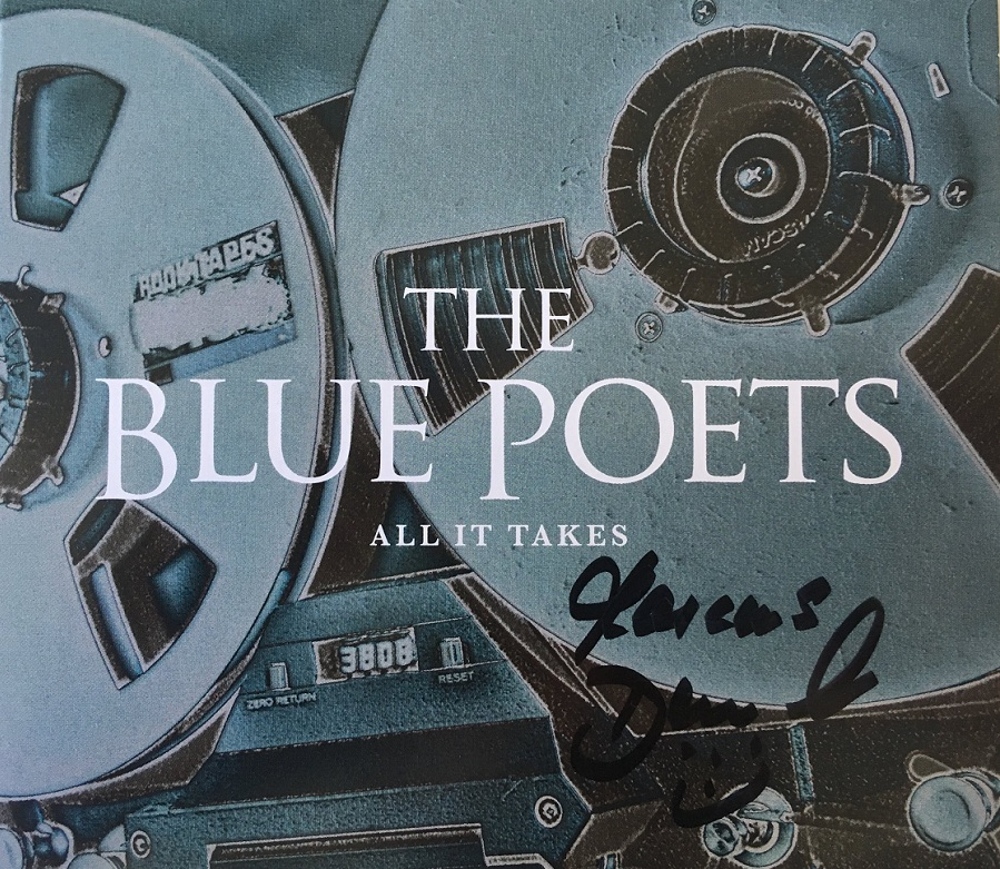 Blue Poets All It Takes signiert