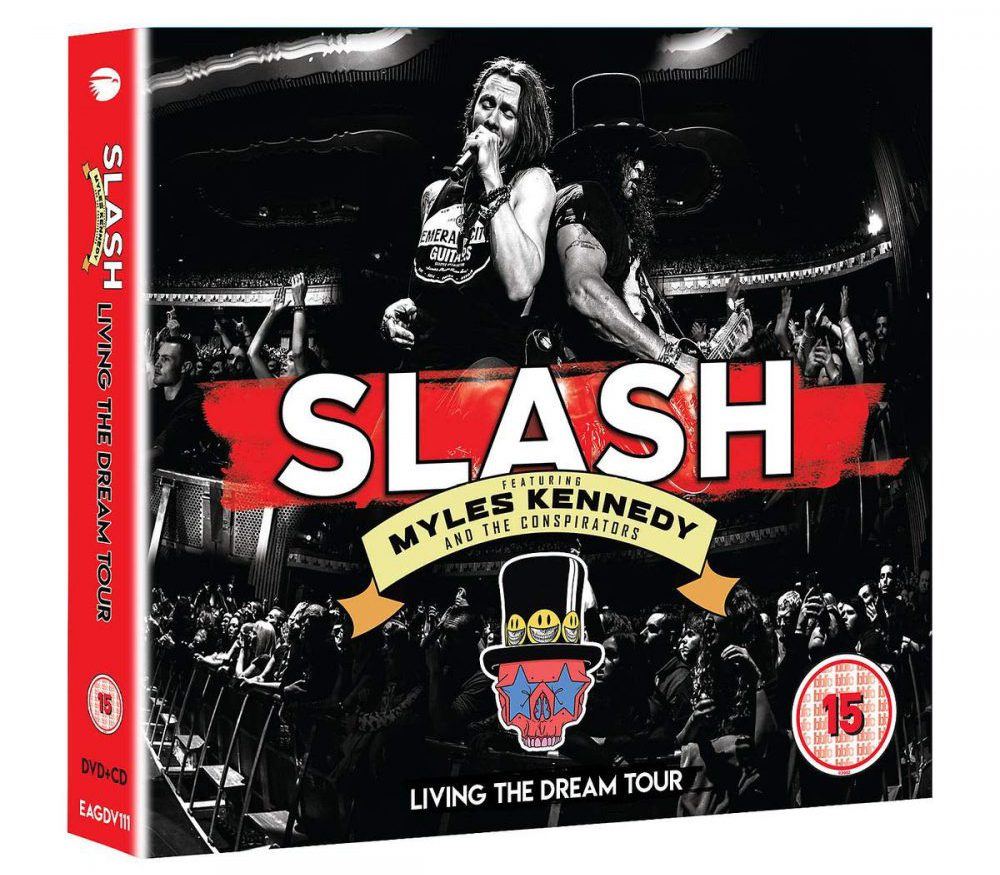 Slash Myles Kennedy Living The Dream Tour