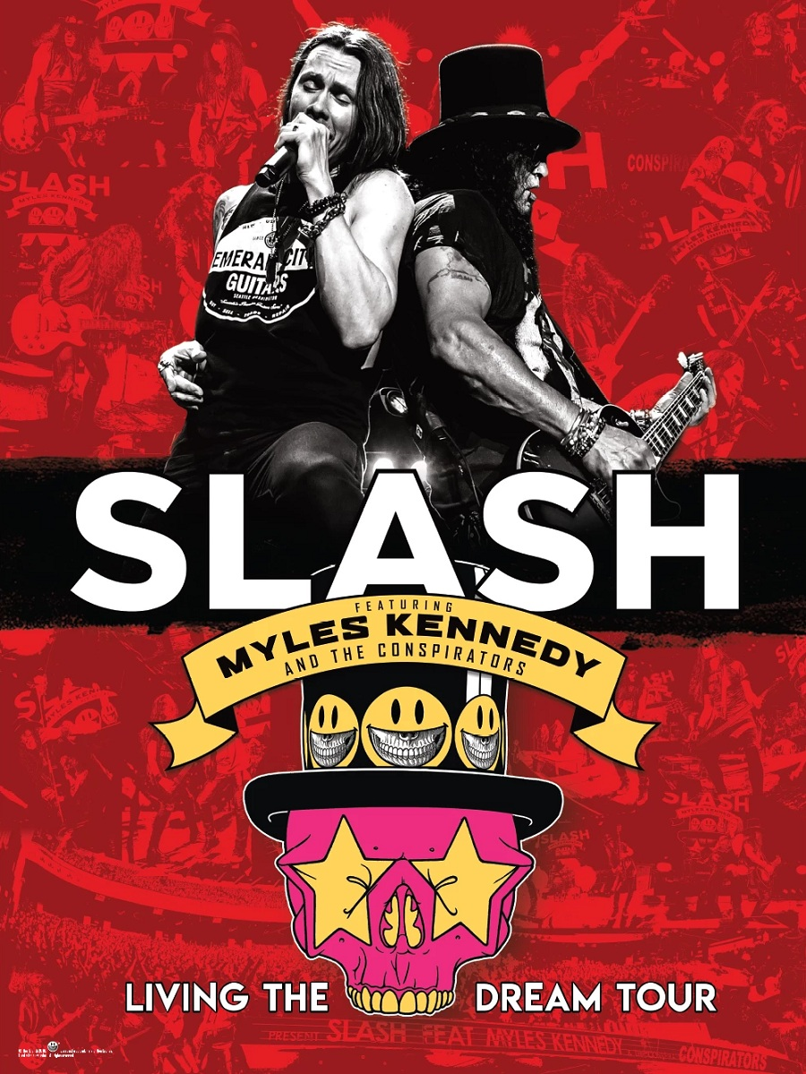 Slash Tourposter