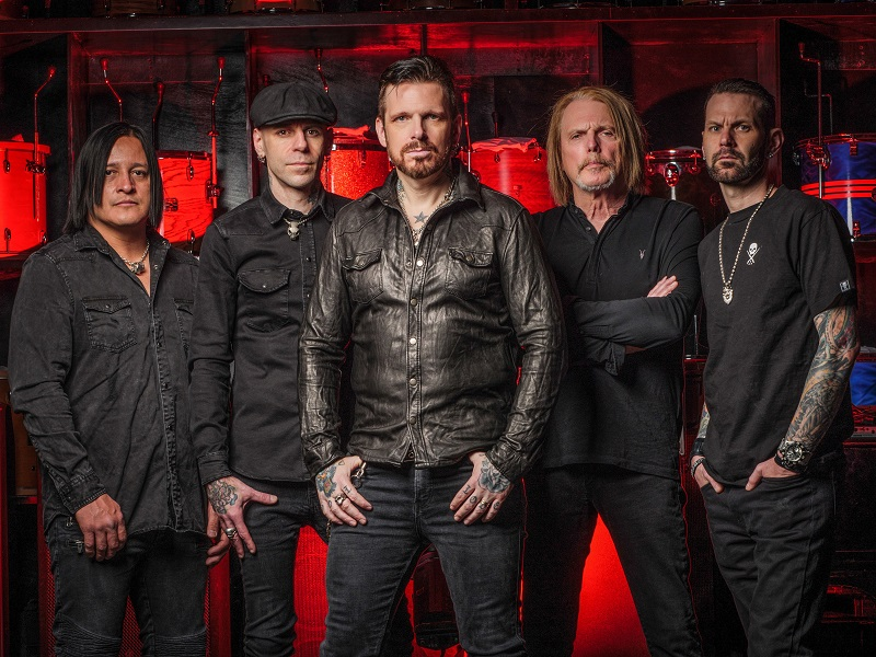 Black Star Riders 2019 press