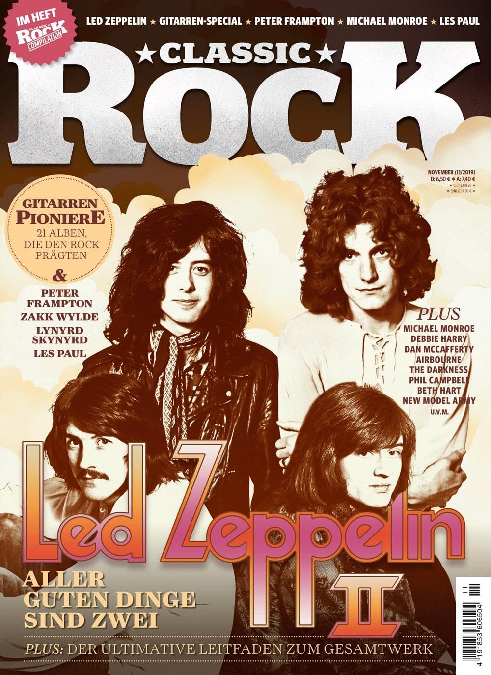 Classic Rock Magazin Led Zeppeli n Titel