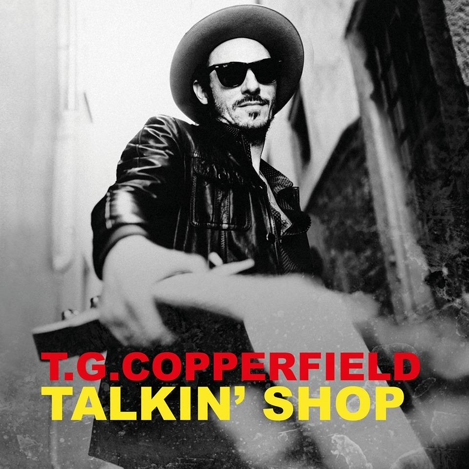 T.G. Copperfield TALKIN SHOP Cover