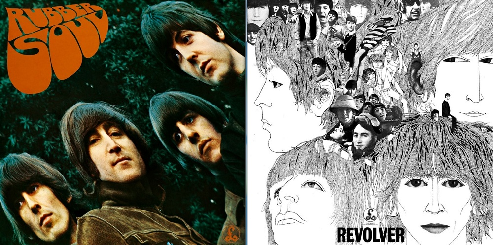 Beatles Rubber Soul Revolver