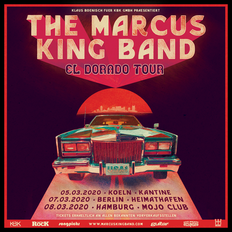 The Marcus King Band El Dorado Tour 2020