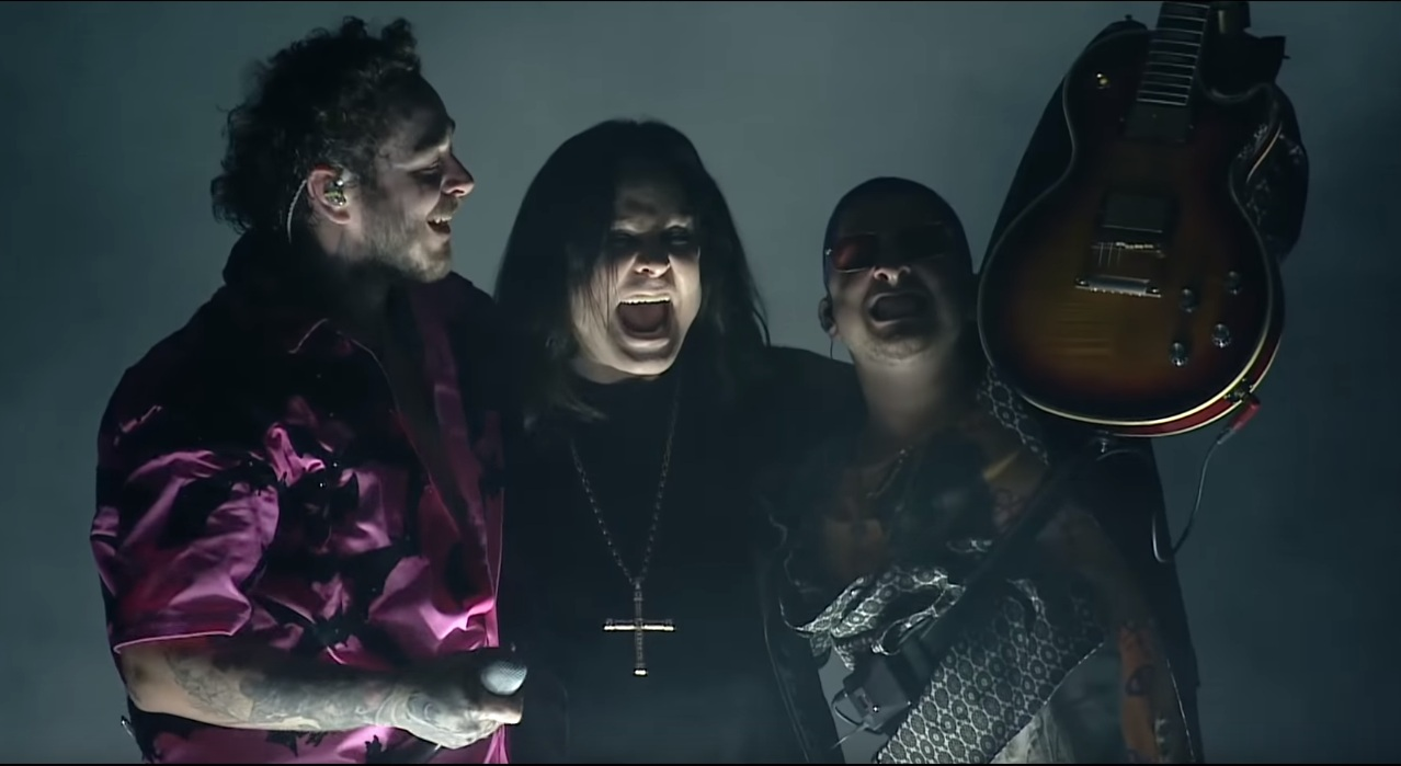 Ozzy Osbourne live mit Post Malone