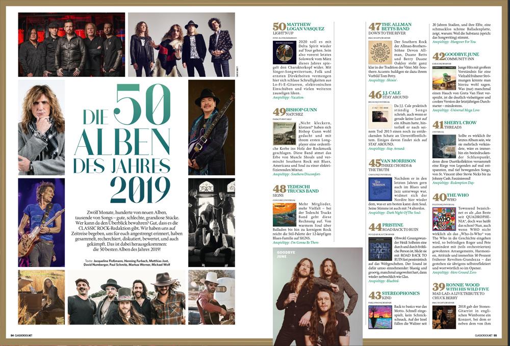 Die 50 besten Alben aus 2019