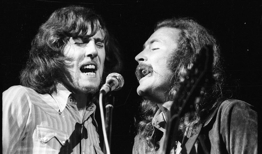 Nash und Crosby in Woodstock