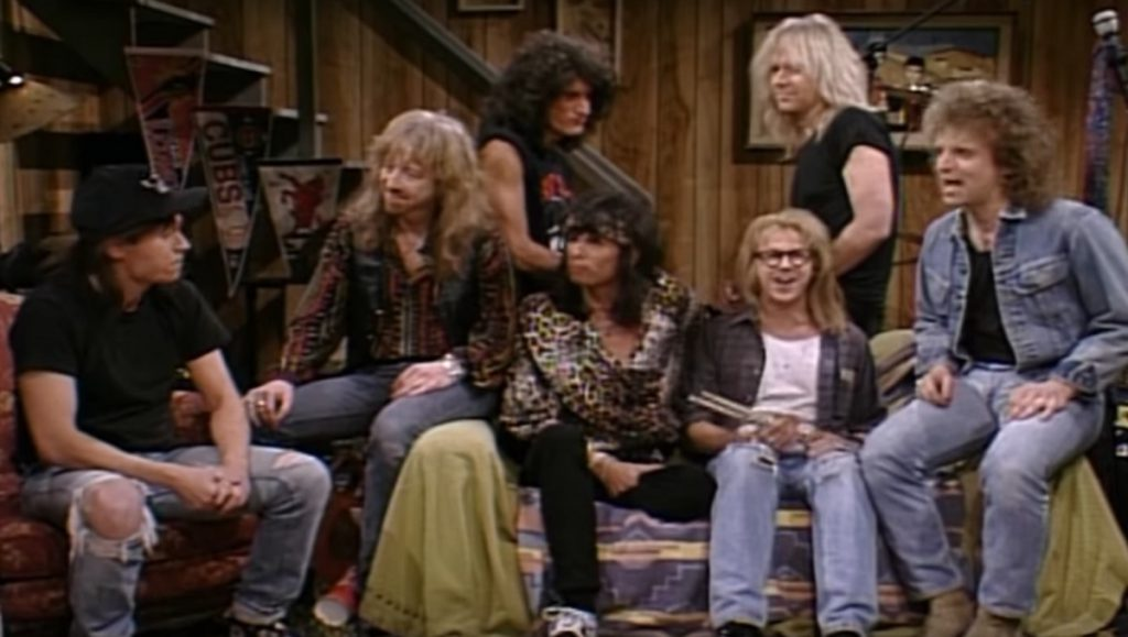 Aerosmith bei Waynes World Screenshot