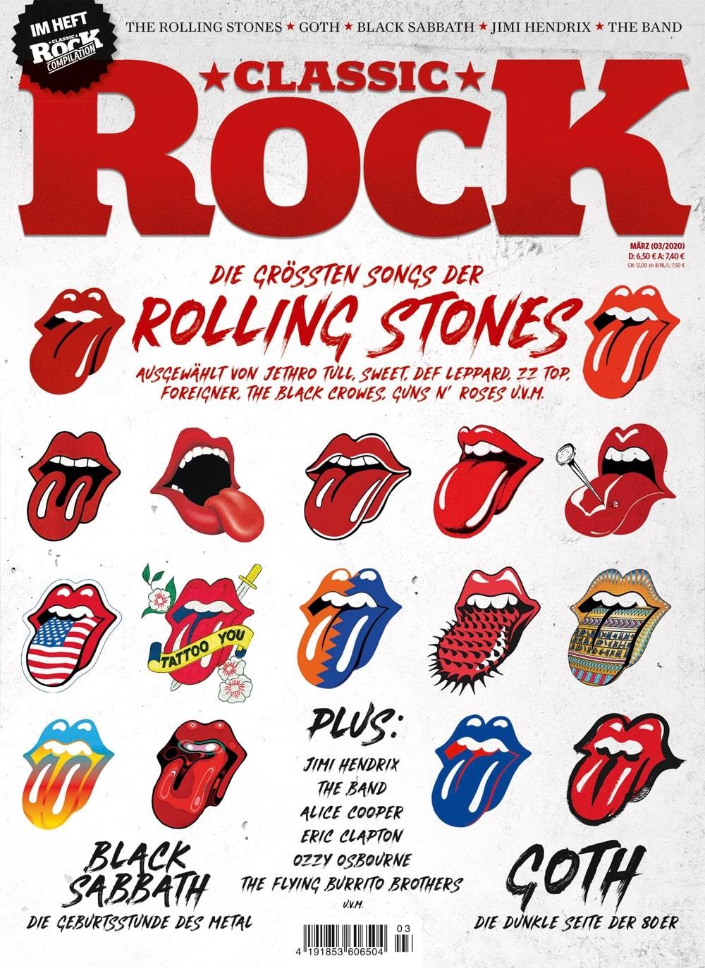 Classic Rock Rolling Stones Titel