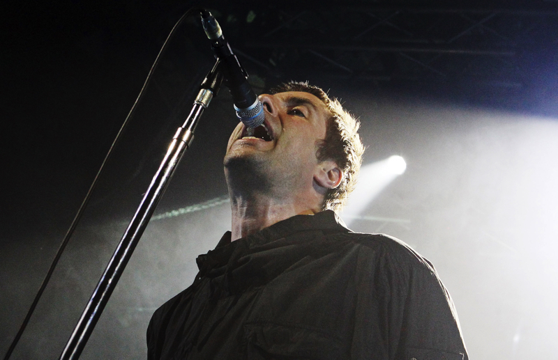 Liam Gallagher live