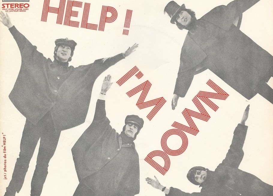 The Beatles Help I'm Down Sampler Cover