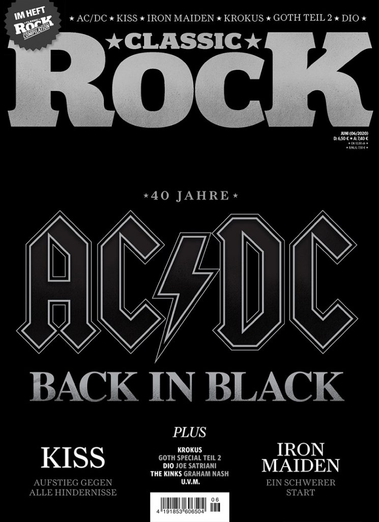 CLASSIC ROCK AC/DC Back in Black