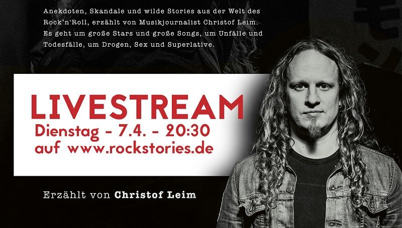 Rockstories livestream