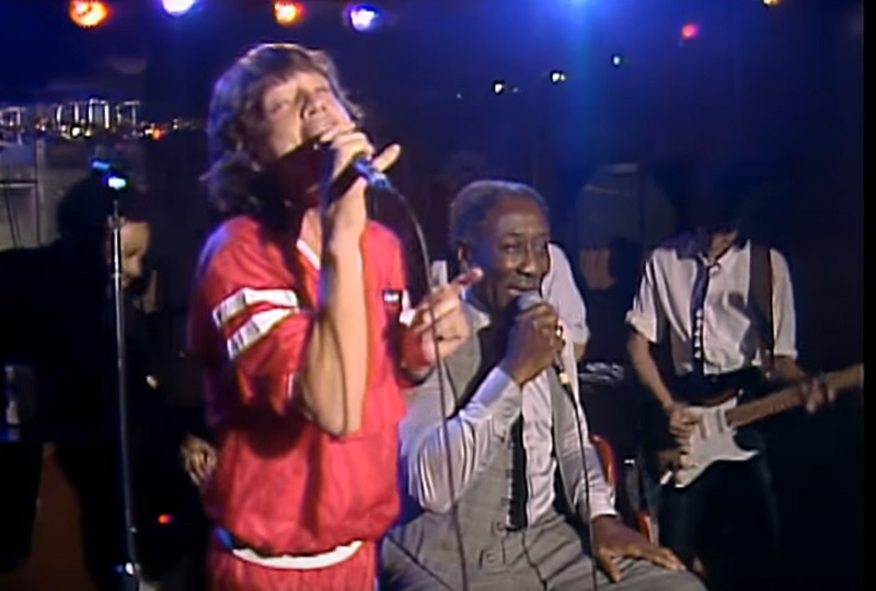 The Rolling Stones feat Muddy Waters
