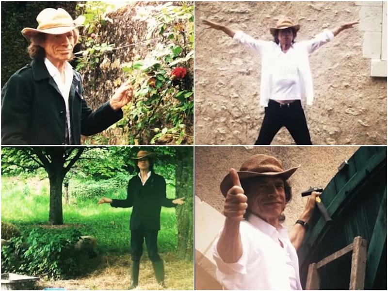 Mick Jagger Quarantäne Video