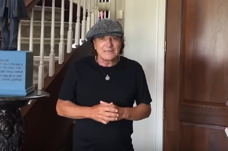 Brian Johnson Videobotschaft an ACDC Fans 2020