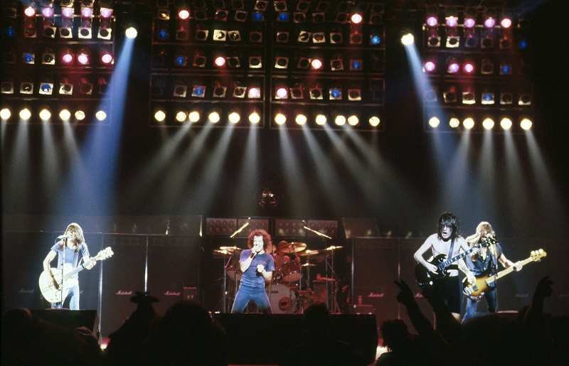 AC/DC Back in Black Pressefoto von Sony