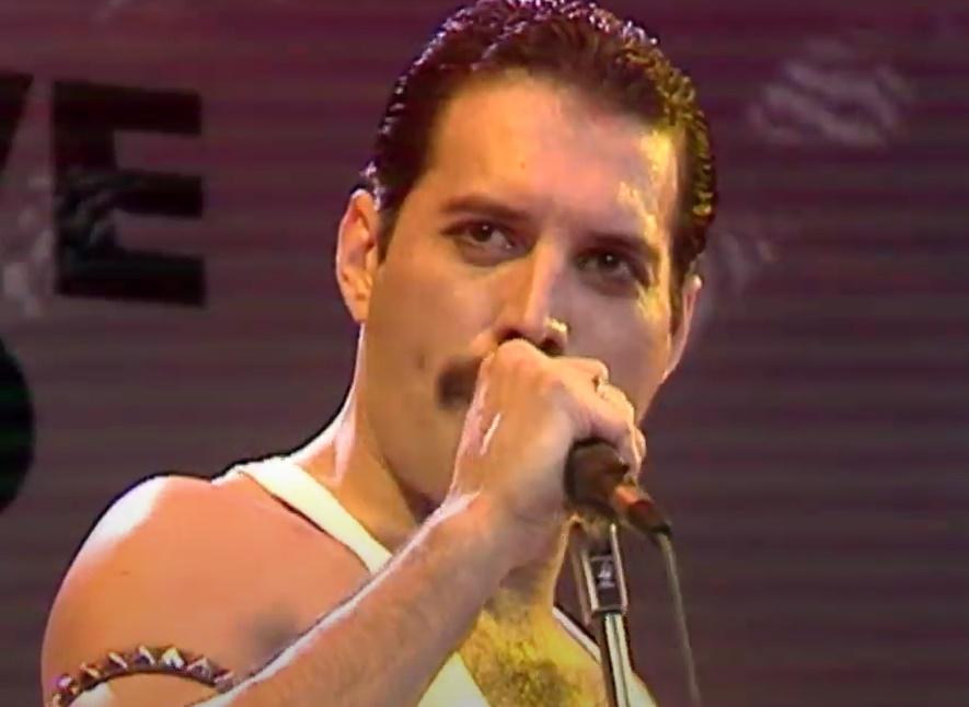 Freddy Mercury Live Aid 1985