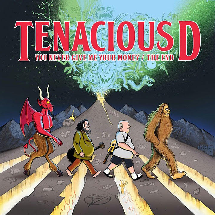 tenacious d you never give me your money + the end